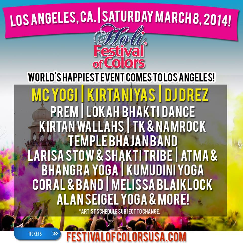 Los Angeles Line Up