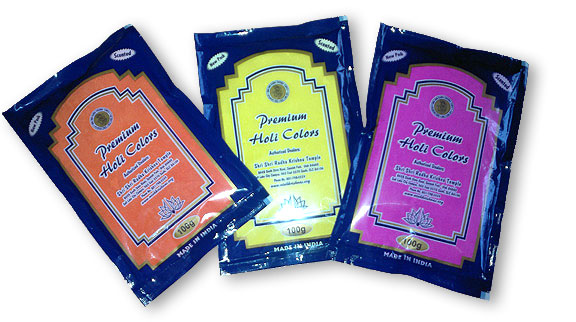 buy holi gulal colors and color run powder bulk for the best price - Color Packets