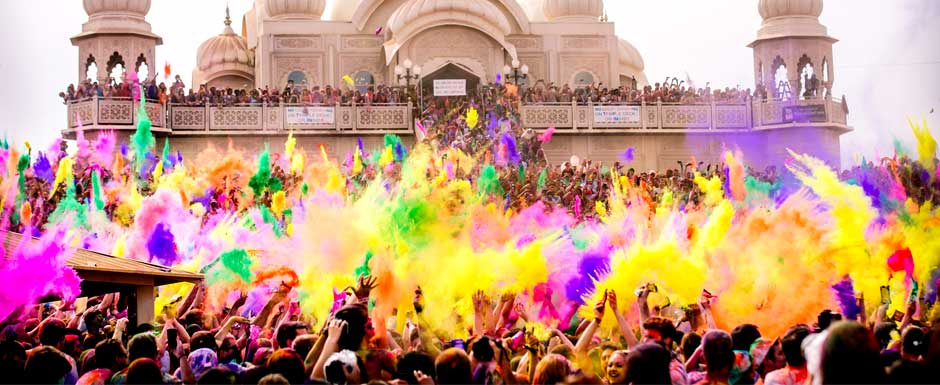 The Holi Festival is bringing brightness to cities around the World