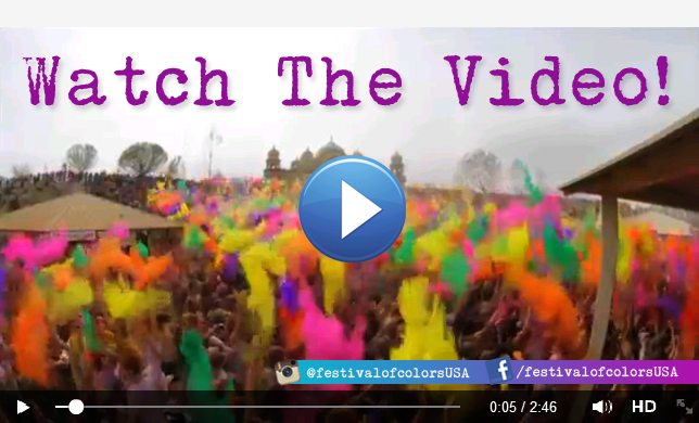 Holi Festival of Colors Video