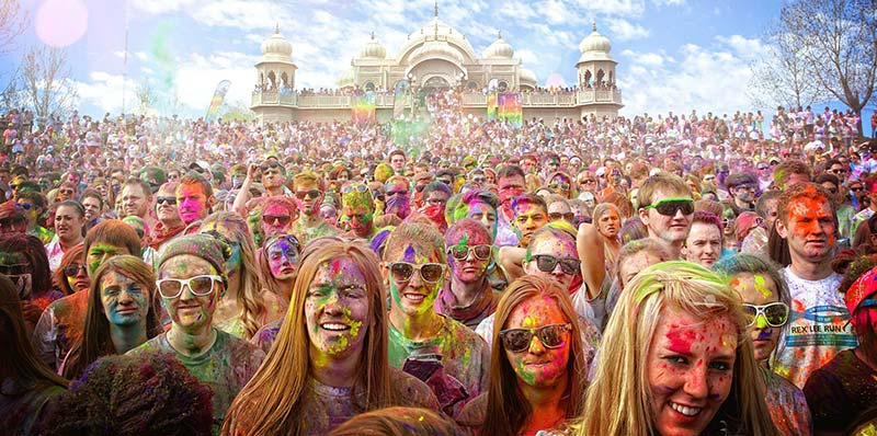 Festival Of Colors USA in Spanish Fork, Utah