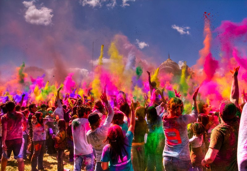 fiesta holi india