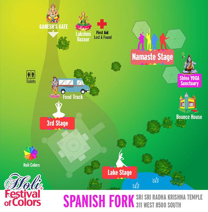 Spanish Fork Map